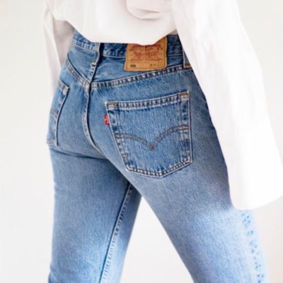 Levi's Denim - Vintage Levi's 560 High Waist wedgie fit Jeans